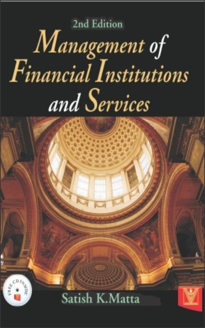Management of Financial Institutions and  Service (With CD)